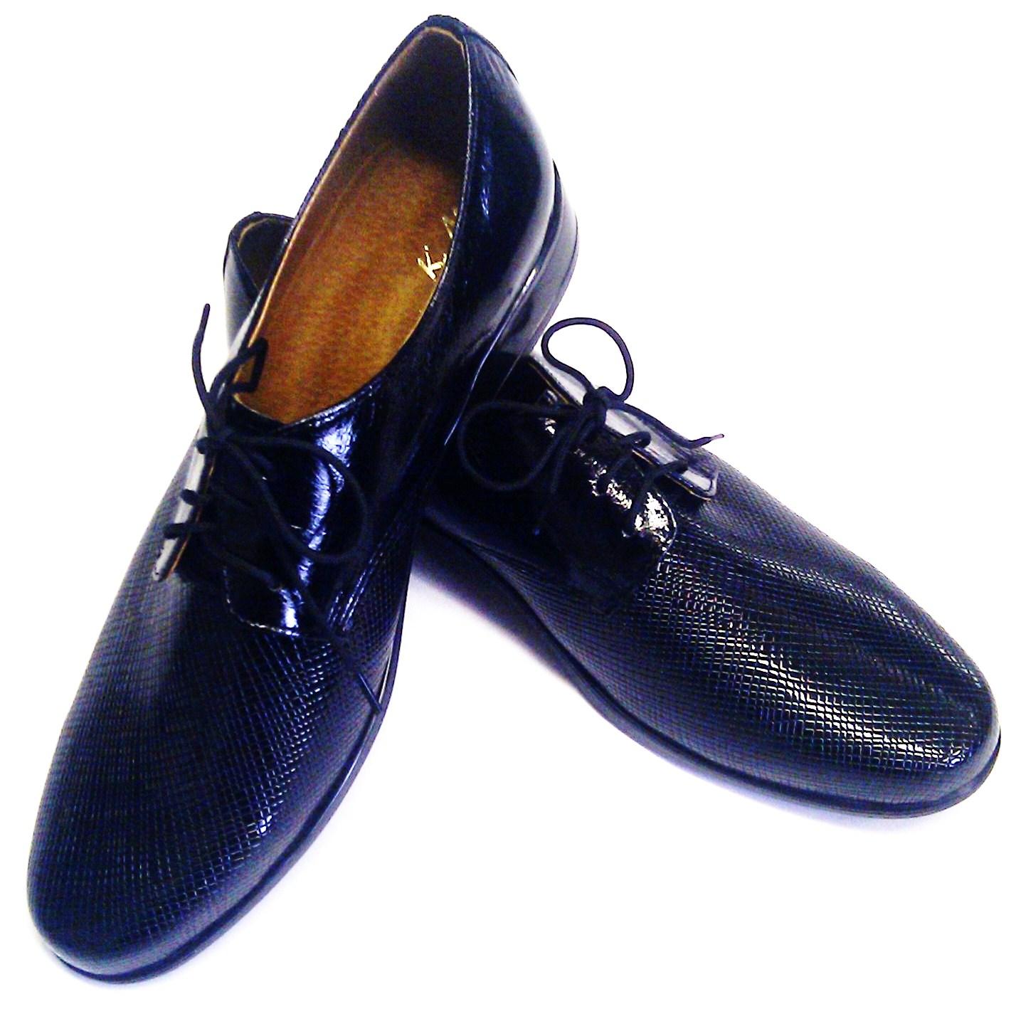 Chlapecké boty střevíce černé v.26-29  47a9068970
