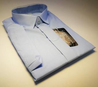 Chlapecká košile kr.ruk. sv.modrá v.110-122 b8489ebd9b
